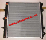 Range Rover P38 2.5 BMW Turbo Diesel Manual or Automatic Engine Radiator 1995-2002