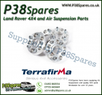 Range Rover P38, Discovery 2 Terrafirma Alloy Wheel Spacers - 30mm