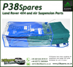 Range Rover P38 MKII Waterproof GREEN Front Seat Covers 1995-2002