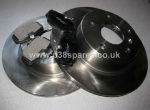 P38 Rear Brake Discs and Pad Set.