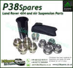 Range Rover P38 95-02 Alloy Wheel Locking Nut Set + Key