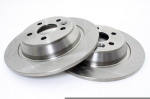 Range Rover Evoque Pair of Solid Rear Brake Disc Fits Left & Right 2012-Onwards
