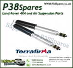 Range Rover P38 Terrafirma HD All-Terrain Rear Shock Absorbers (Fits Left & Right) 94-02 - X2