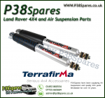 Range Rover P38 Terrafirma HD All-Terrain Front Shock Absorbers (Fits Left & Right) 94-02 - X2