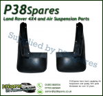 Range Rover P38 MKII Single Exhaust Pair of Rear Mudflaps 95-99