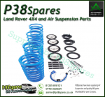 Air Spring to Coil Bearmach Conversion Kit Range Rover P38 MKII 1995-2002