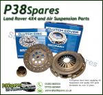Land Rover Discovery 2 TD5 Three In One Clutch Kit 1998-2004 Plate - Bearing - Cover