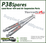 Land Rover Discovery 2 Pair of Front Terrafirma + 2 Inch All-Terrain Shock Absorbers  (Fits Left & Right) 98-04