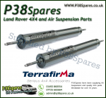 Land Rover Defender 90/110/130 Terrafirma Front Commercial STD Travel Heavy Duty Shock Absorber (Pair)