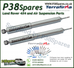 Land Rover Defender 90/110/130 Terrafirma Rear Commercial STD Travel Heavy Duty Shock Absorber (Pair)