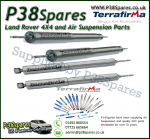 Land Rover Discovery 1 Terrafirma Front & Rear Commercial STD Travel Heavy Duty Shock Absorber (x4) 89-98