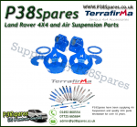 Land Rover Defender 110/130 Terrafirma Hydraulic Bump Stop Mounting Kit -Rear