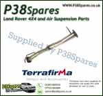 Land Rover Defender 90 Td4 Terrafirma Centre Silencer Replacement Pipe 2007-Onwards