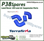Land Rover Defender 90/110/130 200TDI Terrafirma Blue Silicone Turbo & Intercooler Hose Pipe Kit