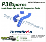 Land Rover Discovery 1 200/300TDi Terrafirma Blue Silicone Turbo & Intercooler Hose Pipe Kit