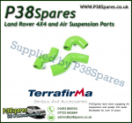 Land Rover Discovery 2 TD5 Terrafirma Green Silicone Turbo & Intercooler Hose Pipe Kit