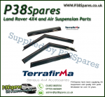 Range Rover L322 Terrafirma Wind Deflectors (Set of 4)
