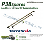 Land Rover Discovery 1 Models (Late Type-4 Track Rod Ends) Terrafirma Pair of Steering Rods