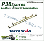 Land Rover Discovery 2 Models (Early Type-4 Track Rod Ends) Terrafirma Pair of Steering Rods