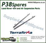 Land Rover Defender 110 Terrafirma Pair of Rock Sliders/Side Protection Bars Without Tree Bars (Fits Left & Right)