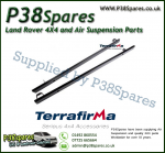 Land Rover Defender 130 Terrafirma Pair of Rock Sliders/Side Protection Bars Without Tree Bars (Fits Left & Right)
