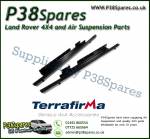 Land Rover Discovery 2 Terrafirma Pair of Rock Sliders/Side Protection Bars Without Tree Bars (Fits Left & Right)