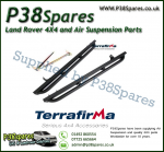 Land Rover Defender 90 Terrafirma Pair of Rock Sliders/Side Protection Bars With Tree Bars (Fits Left & Right)