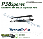 Land Rover Defender 110 Terrafirma Pair of Rock Sliders/Side Protection Bars With Tree Bars (Fits Left & Right)
