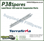 Land Rover Defender 110 Terrafirma Galvanised Pair of Rock Sliders/Side Protection Bars With Tree Bars (Fits Left & Right)