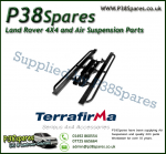 Range Rover P38 MKII Terrafirma Pair of Rock Sliders/Side Protection Bars With Tree Bars (Fits Left & Right)