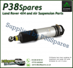 Rear Left  BMW 7-Series (E65 & E66) Without EDC Arnott Air Suspension Strut with Spring Bag 2001-2008