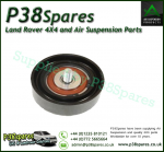 Range Rover P38 Drive Belt Idler Pulley 80 mm - Timing Tensioner - V8 Petrol 1999-2002 With Air Conditioning