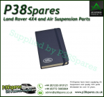 Land Rover 152 Page Pocket Note Book - Navy