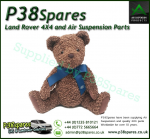 Land Rover Soft and Cuddly Plush Bear - 30 cm seated