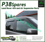 Land Rover Discovery 3 Full Set of 4 Wind Deflectors - Front and Rear