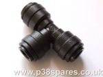 EAS 'T' Section 6mm Replacement Airline Fitting Connector Range Rover P38 MKII & Range Rover Classic 1992-2002